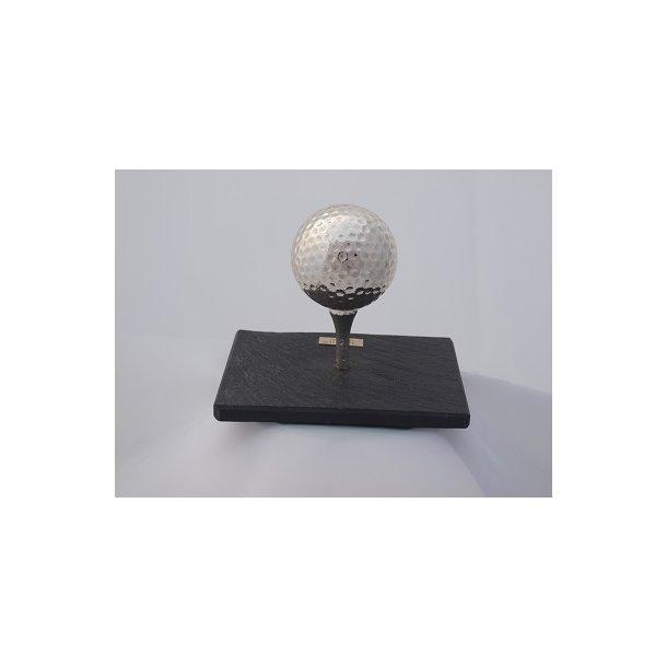 Golfbold. inkl skiffer